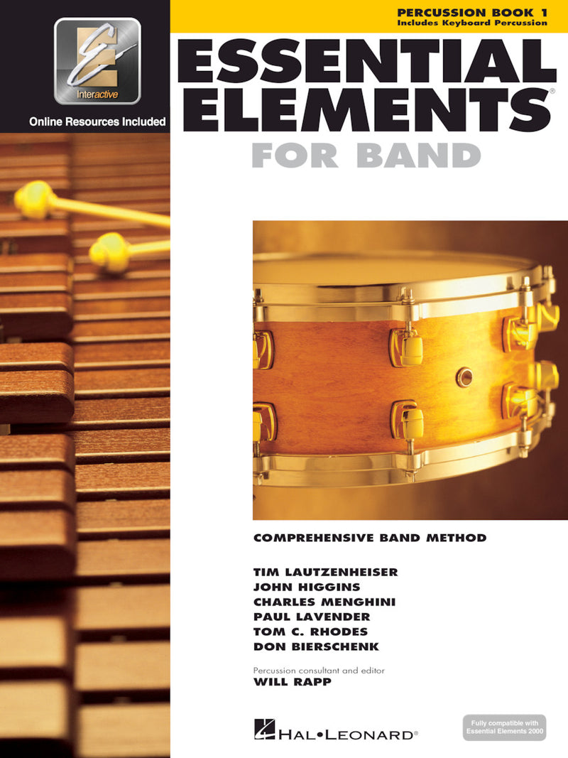 Essential Elements for Band, Percussion Book 1