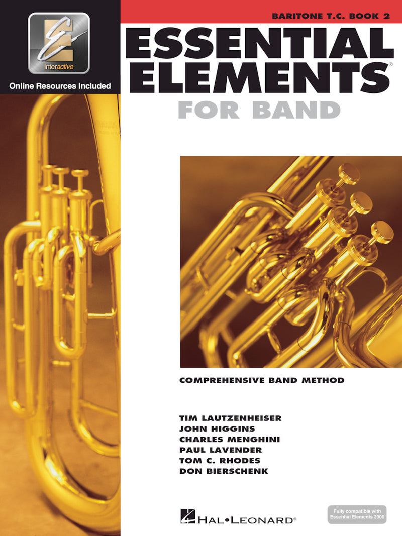 Essential Elements for Band, T.C. Baritone Book 2