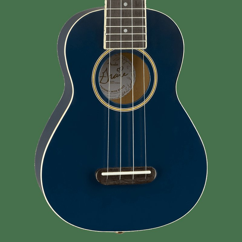 "Fender Grace VanderWaal ""Moonlight"" Soprano Uke- Navy"