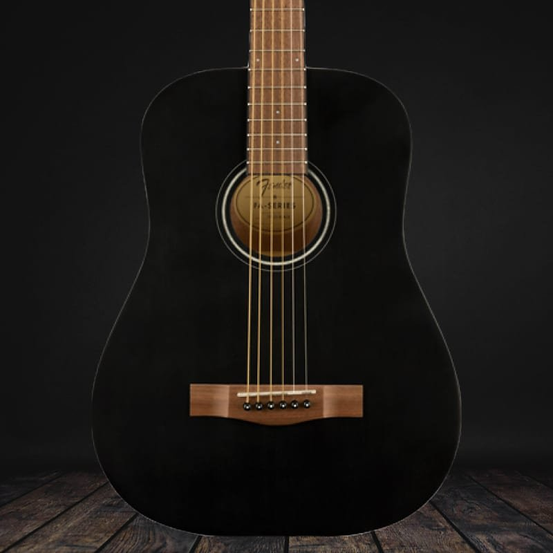 Fender FA-15 3/4nSteel String w/ bag- Black