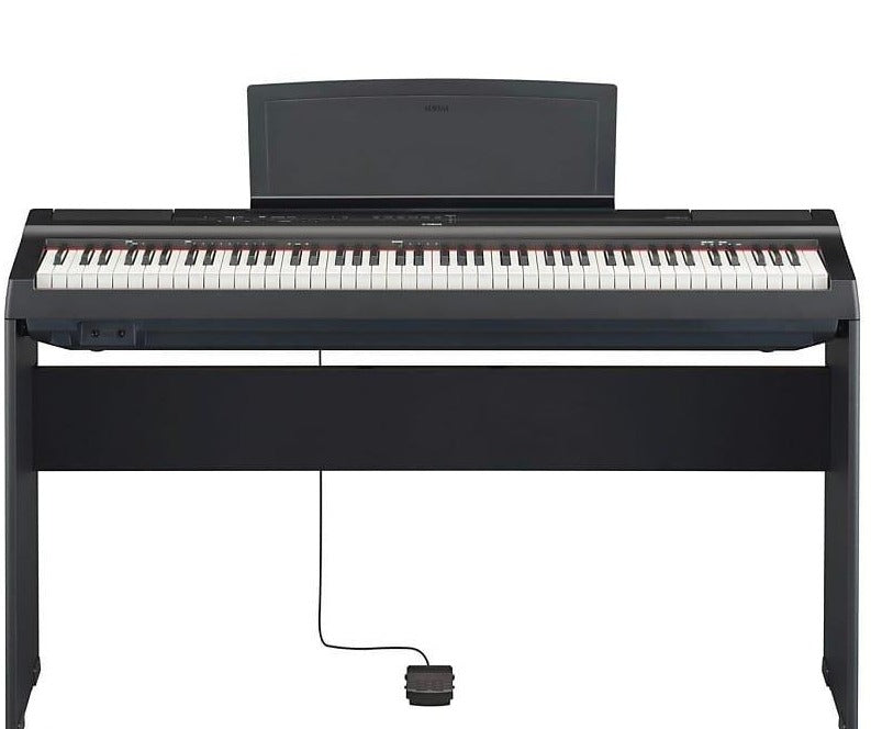 Yamaha Digital Piano Bundle- P-125/L-125 (Furniture Stand Included)