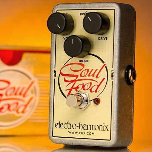 Electro-Harmonix Soulfood Transparent Distortion/Fuzz/Overdrive