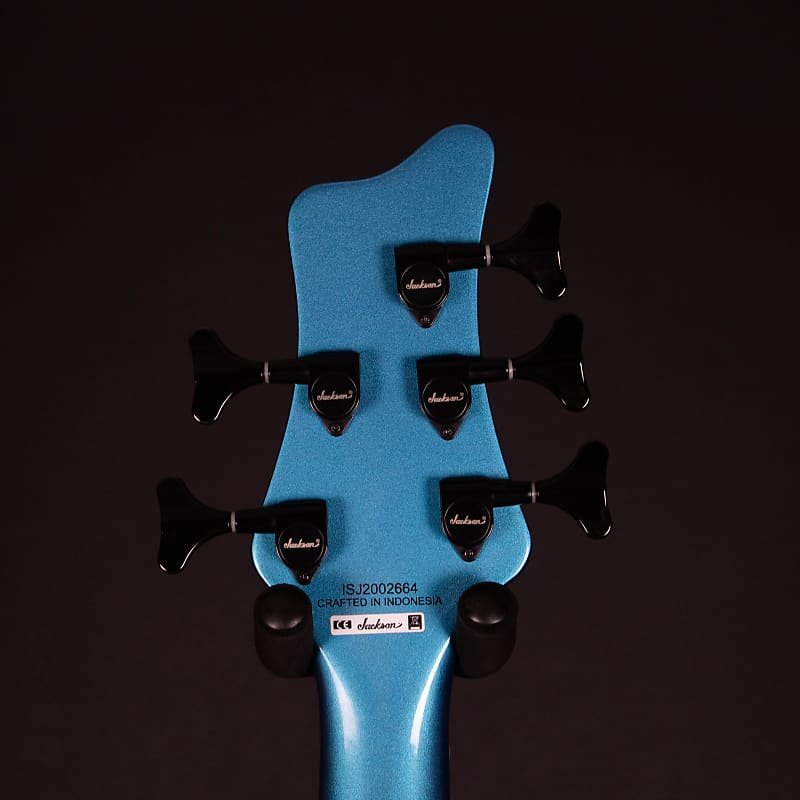Jackson X Series Spectra V Bass Guitar- Electric Blue