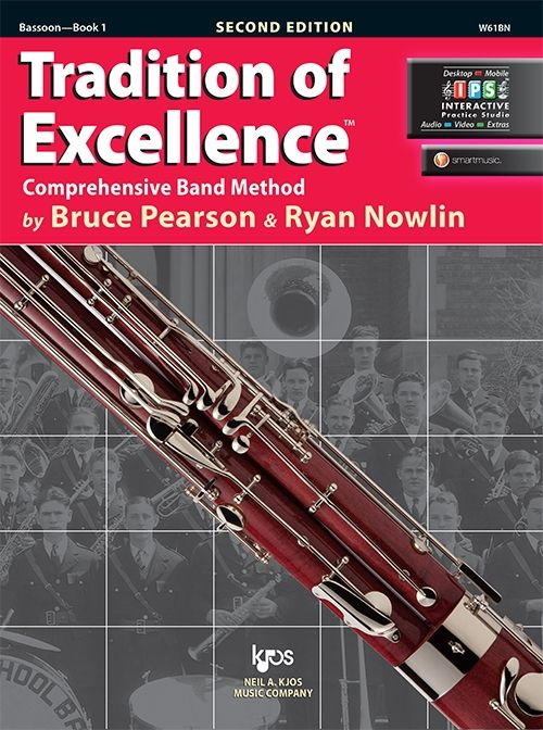 Tradition of Excellence Book 1- Bassoon