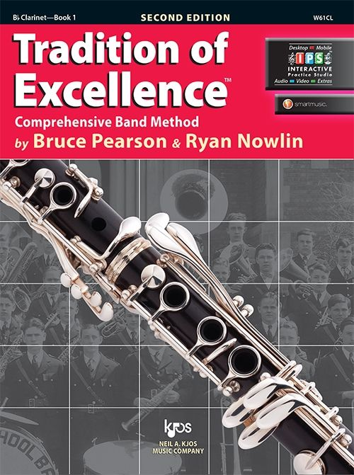 Tradition of Excellence Book 1- Bb Clarinet