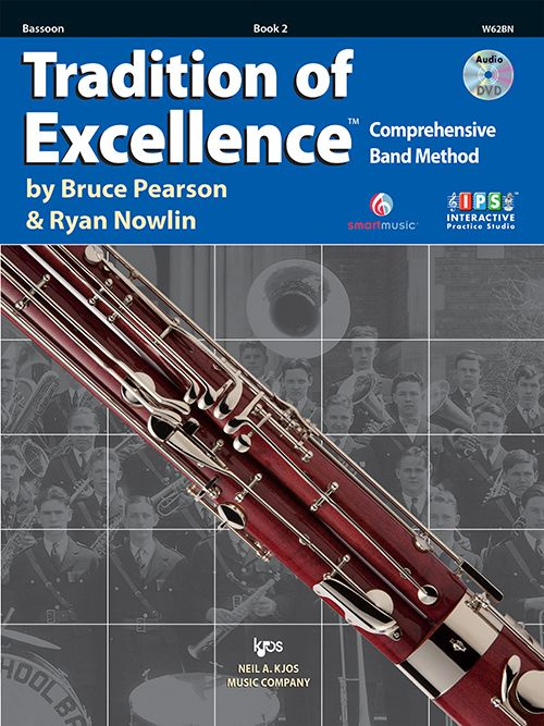 Tradition of Excellence Book 2- Bassoon