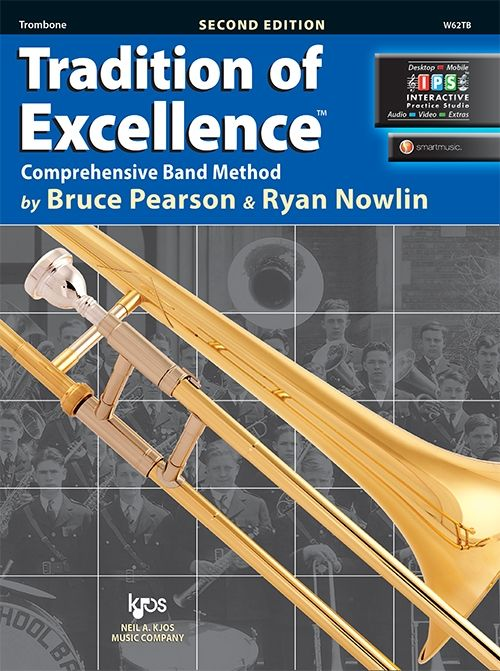 Tradition of Excellence Book 2- Trombone