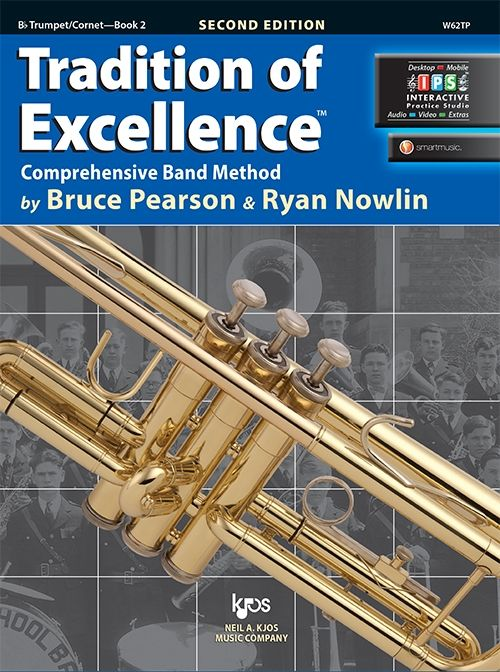 Tradition of Excellence Book 2- Bb Trumpet/Cornet