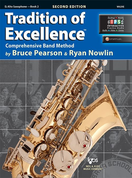 Tradition of Excellence Book 2- Eb Alto Saxophone