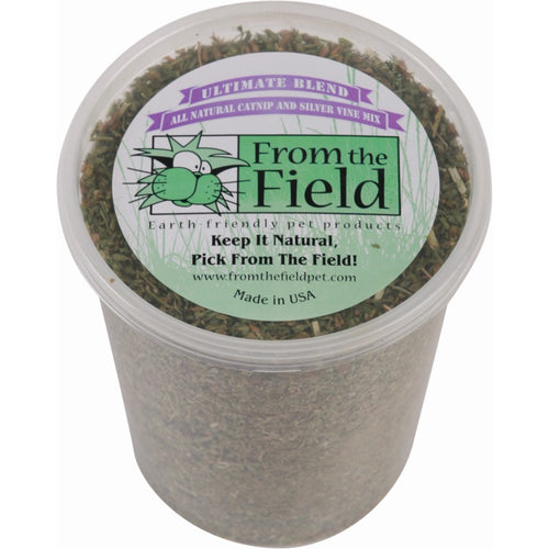 From the Field Catnip Ultimate Blend Silver Vine 3.5oz Tub