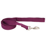 "Coastal pet new earth soy dog leash 5/8"" x 6' in eggplant"