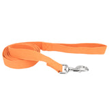 "Coastal pet new earth soy dog leash 5/8"" x 6' in pumpkin"