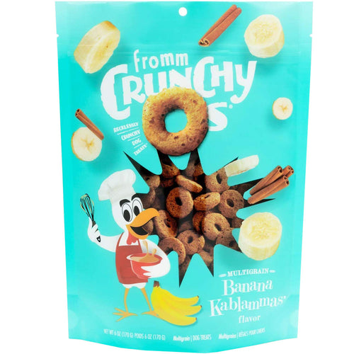fromm crunchy os banana kablammas for dogs and puppies