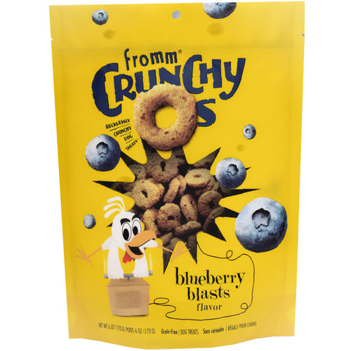 Fromm Dog Treat Crunchy O's Blueberry Blast
