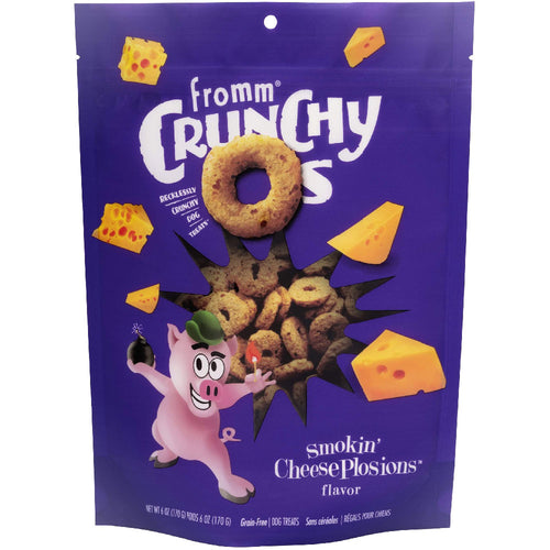 Fromm dog treats cruncy os smokin sheeseplosions for dogs and puppies