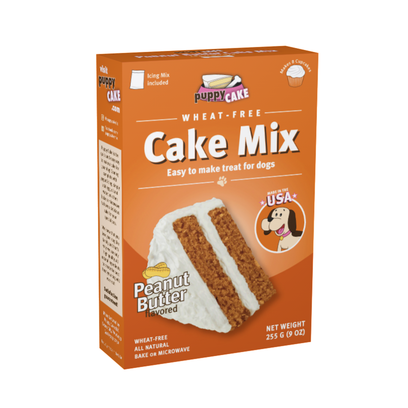Bake for your Dog! Puppy Cake Mix - Peanut Butter