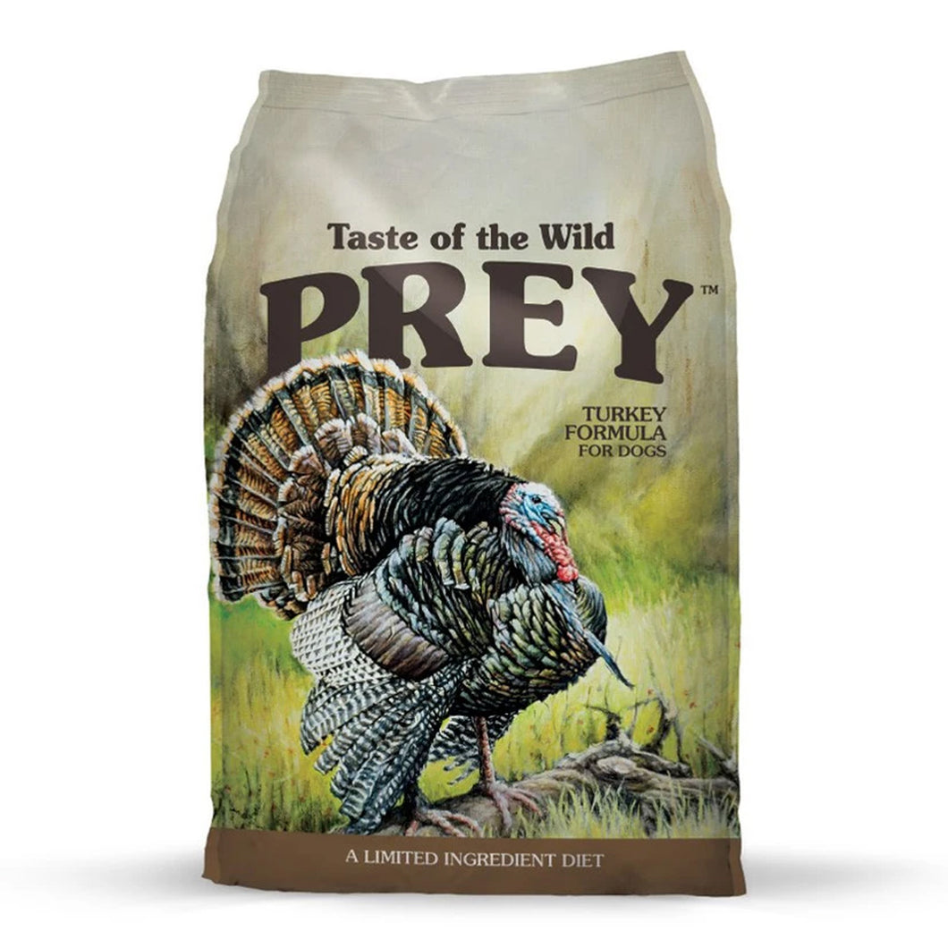 taste of the wild Prey limited ingredient turkey for dogs and puppies
