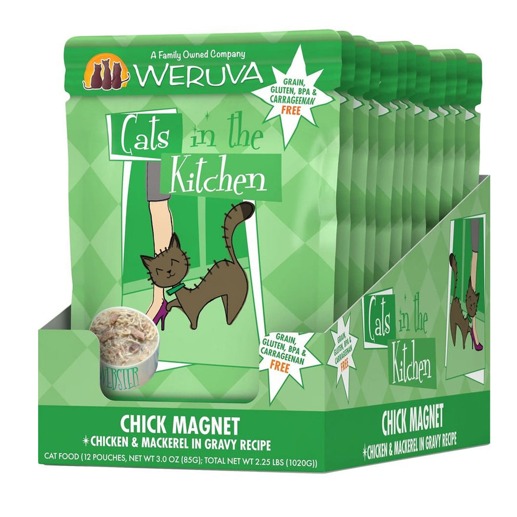 Weruva Cats in the Kitchen Pouch - Chick Magnet