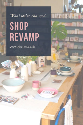 shop revamp, shop interior, shop display