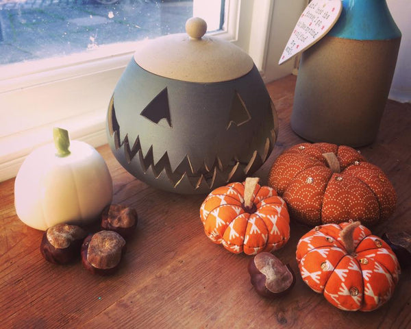 Ceramic Pumpkin Carving course, october 13th