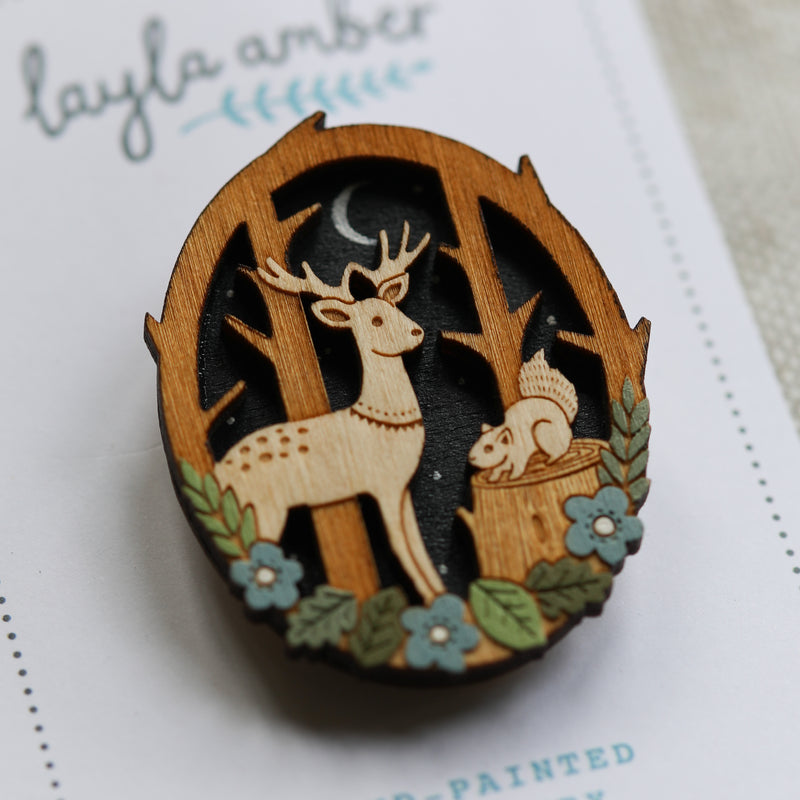 Deer in Forest Jewellery