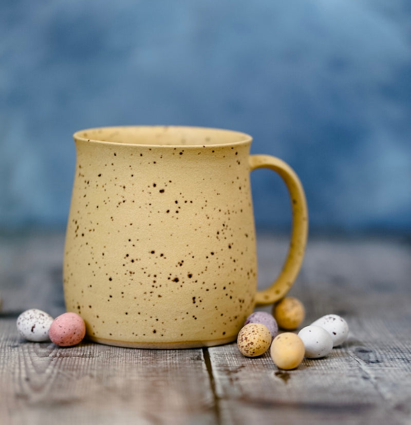 'Mini egg yellow' mug