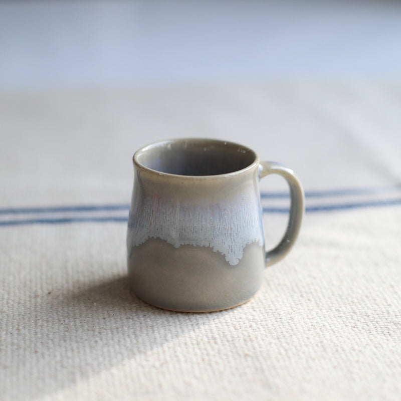 Sea foam handmade mug