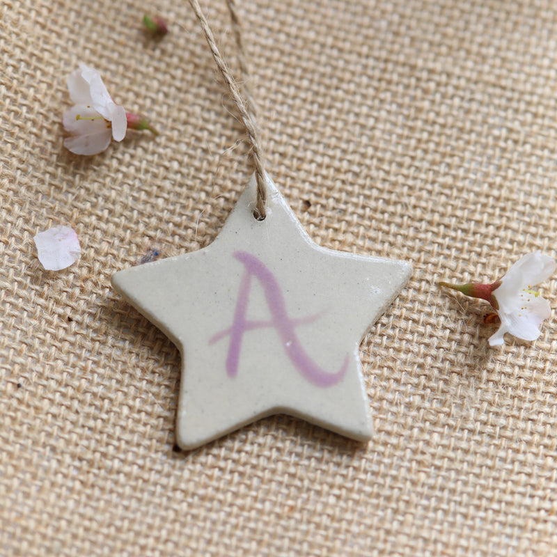 Alphabet Star Decoration