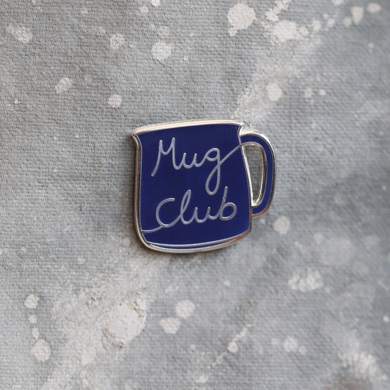 Mug pin badge