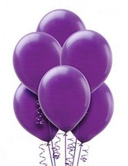 Purple Latex Balloons Dubai