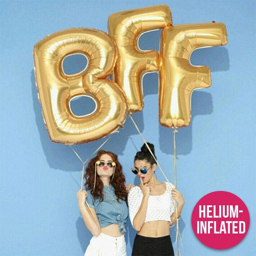 Helium Inflated Letter Balloons UAE