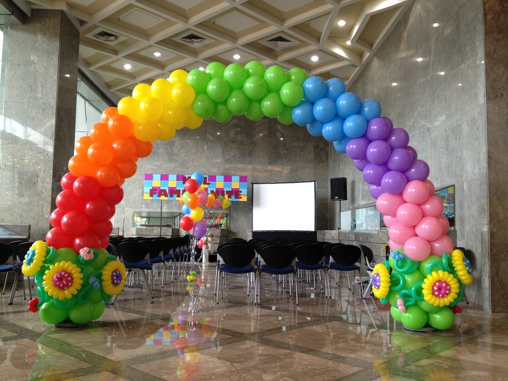Rainbow Balloon Arch Dubai Venue