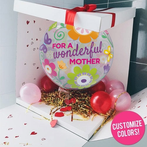 mother day Surprise Balloon in a Box Online Now Dubai