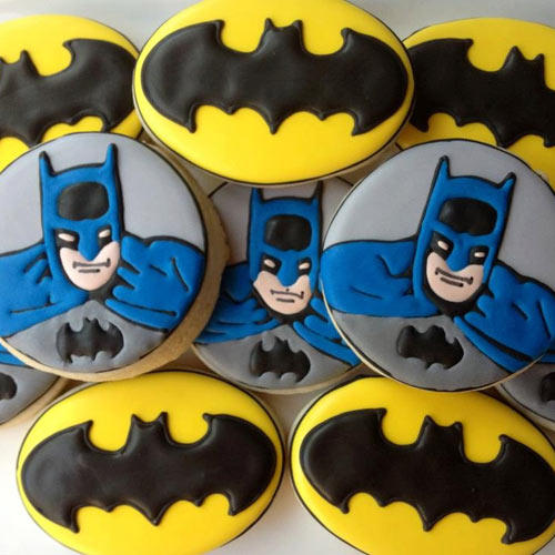 Superhero Batman Cookies - Dubai