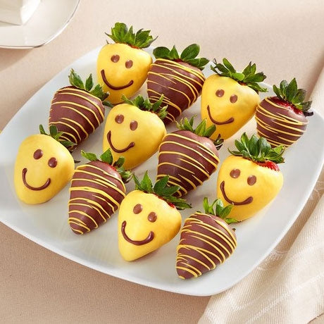Smiley Chocolate Strawberries UAE