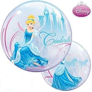 Cinderella Bubble Balloon - Dubai