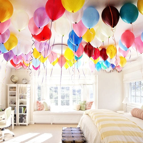 100 Rainbow Balloons Decor - Dubai