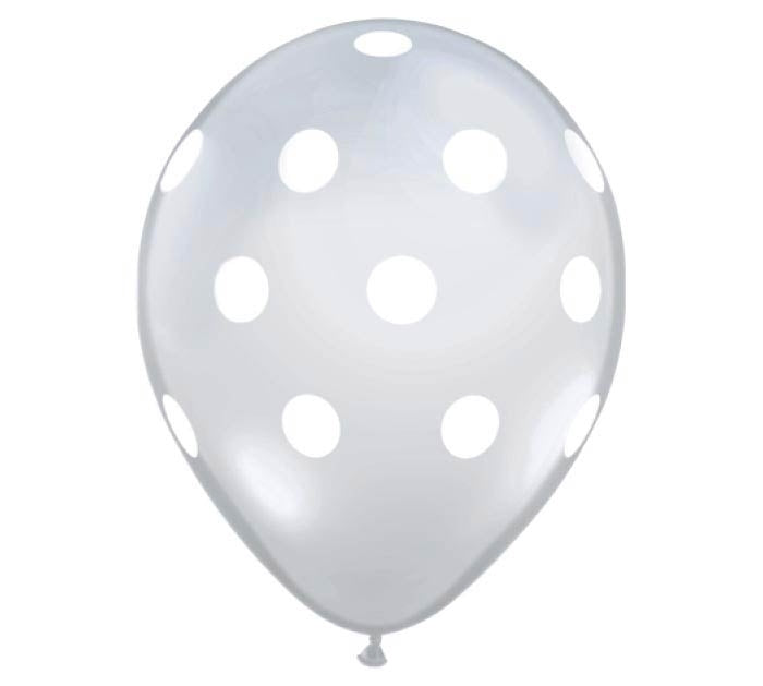 Diamond Polka Dot Latex Balloon Dubai