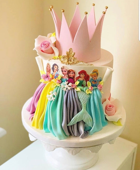 Disney Princess Cake - Dubai