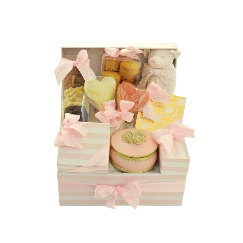 New Born Girl Chocolate Hamper UAE