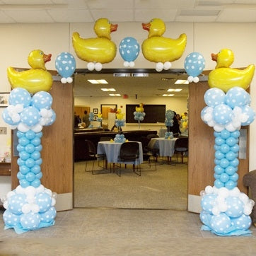 Ducky's Baby Shower Balloon Arch - Dubai