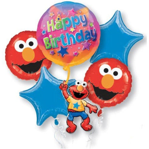Elmo Birthday Balloon Bouquet - Dubai