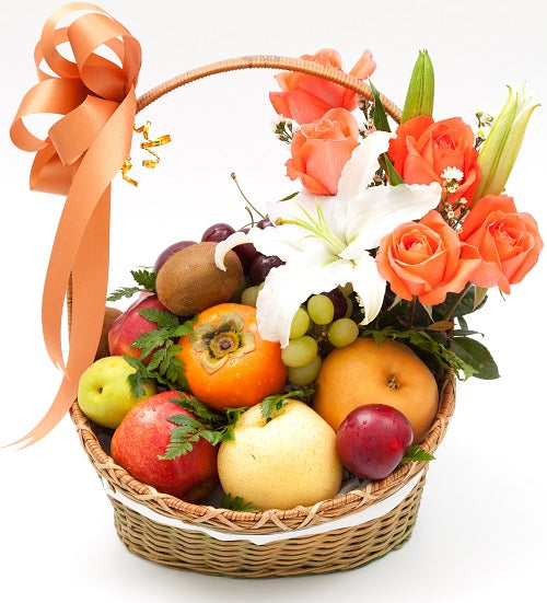 Flower Fruit Basket Dubai