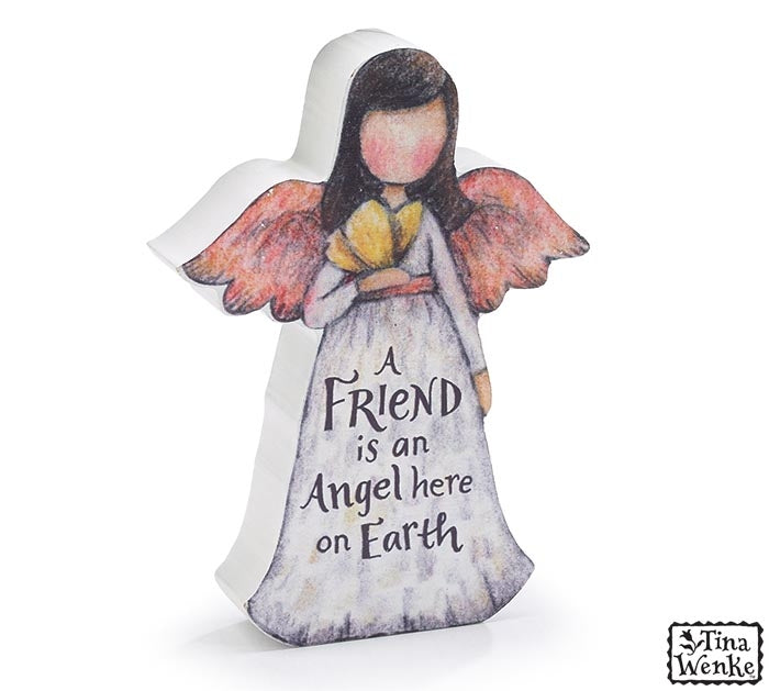 Wooden Angel Friend Gift Dubai