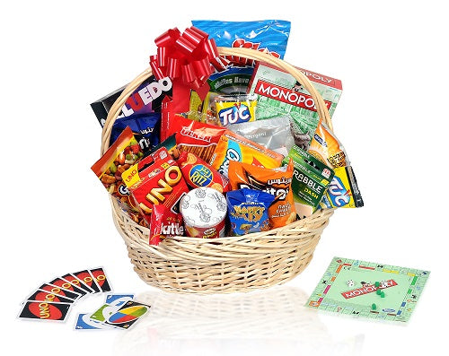 Games & Snacks Gift Basket Dubai