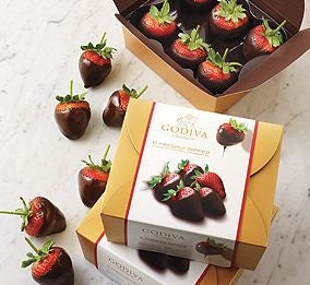 Godiva Strawberry Dubai