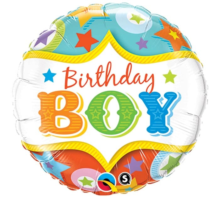 Happy Birthday Boy Circus Theme Balloon Dubai