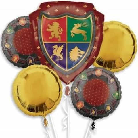 Medievel Shield Balloon Bouquet - Dubai