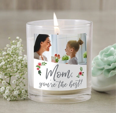 Personalized Mother Candle Jar Dubai