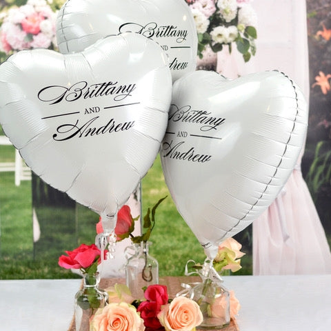 Personalized Heart Shape Balloon Dubai